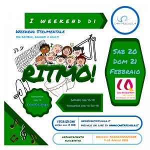 I weekend di Cantascuola 3